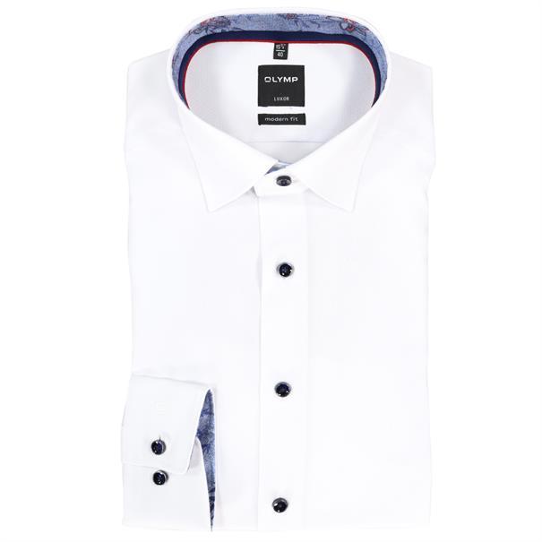 OLYMP overhemd Modern Fit 130634 in het Wit