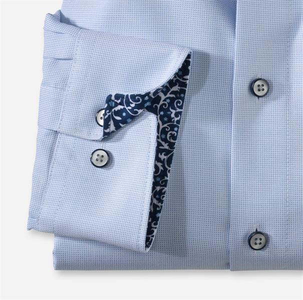 OLYMP overhemd Modern Fit 131254 in het Blauw