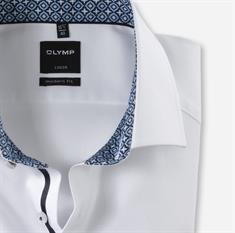 OLYMP overhemd Modern Fit 132064 in het Wit