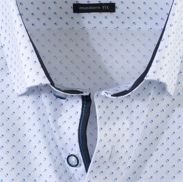 OLYMP overhemd Modern Fit 133254 in het Wit