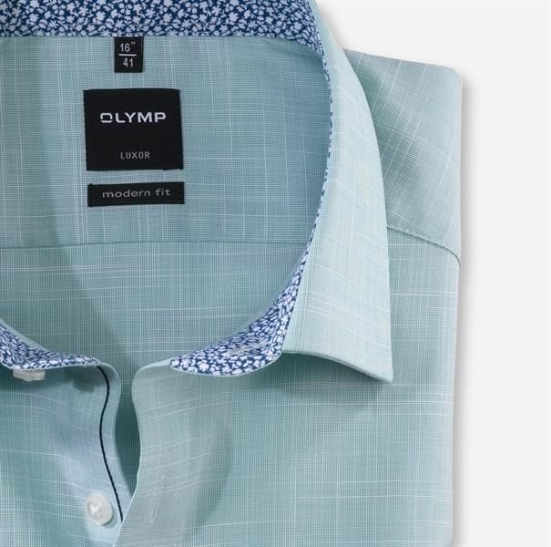 OLYMP overhemd Modern Fit 134252 in het Groen