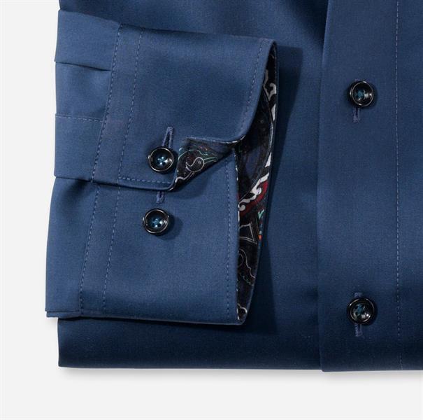 OLYMP overhemd Modern Fit 134264 in het Kobalt