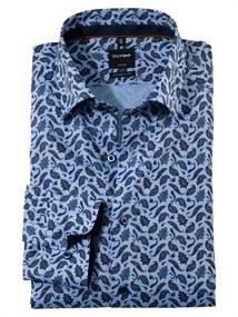 OLYMP overhemd Modern Fit 136064 in het Beige