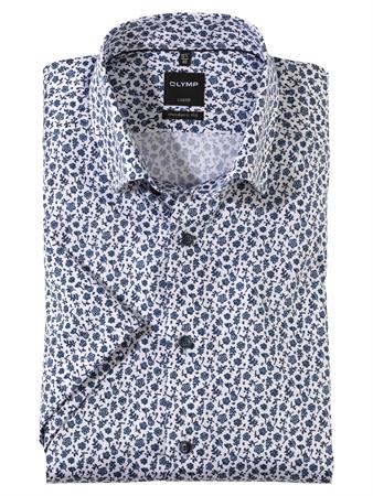 OLYMP overhemd Modern Fit 139072 in het Blauw