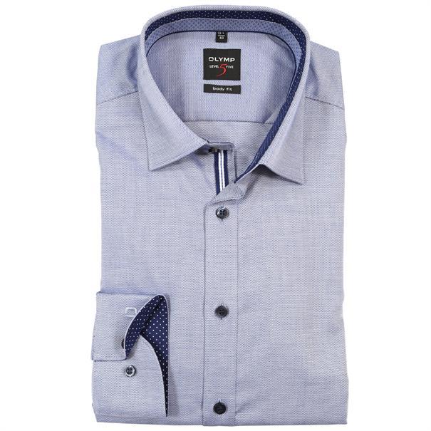 OLYMP overhemd Slim Fit 052964 in het Marine