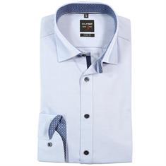 OLYMP overhemd Slim Fit 053264 in het Blauw
