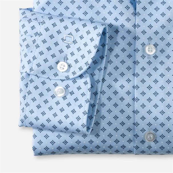 OLYMP overhemd Slim Fit 076064 in het Blauw