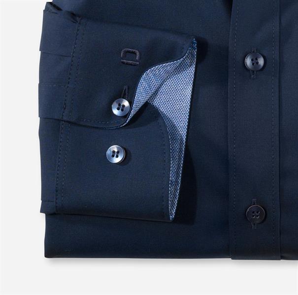 OLYMP overhemd Slim Fit 076564 in het Kobalt