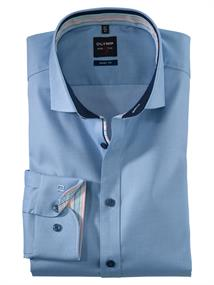 OLYMP overhemd Slim Fit 200154 in het Blauw