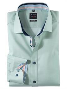 OLYMP overhemd Slim Fit 200154 in het Groen