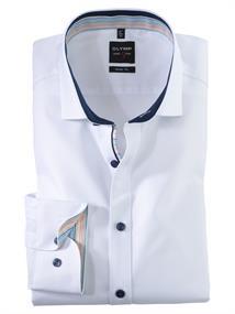 OLYMP overhemd Slim Fit 200154 in het Wit