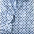OLYMP overhemd Slim Fit 203934 in het Kobalt