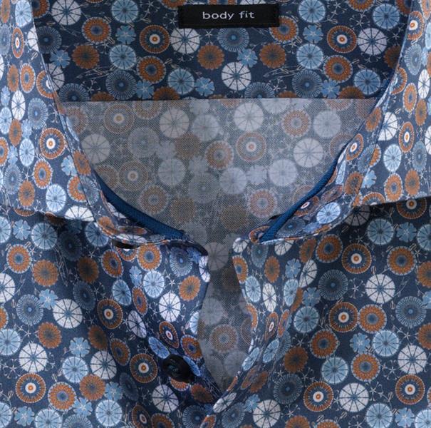 OLYMP overhemd Slim Fit 205854 in het Beige
