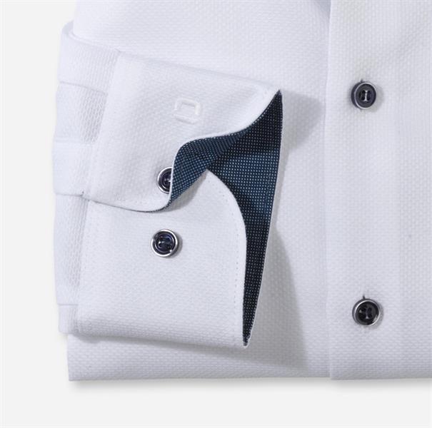 OLYMP overhemd Slim Fit 210654 in het Wit