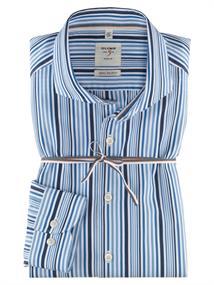 OLYMP overhemd Slim Fit 353854 in het Marine