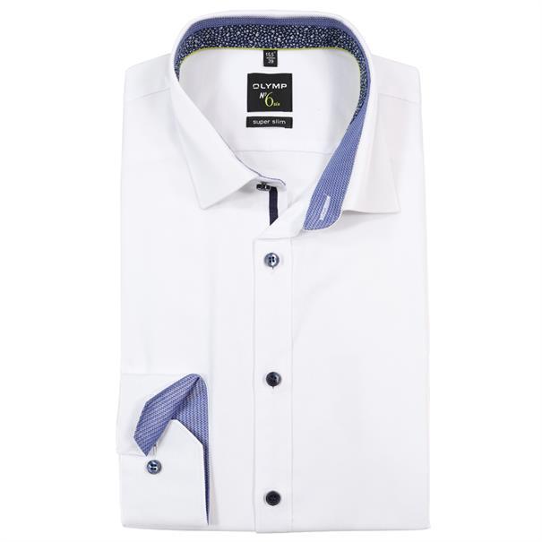 OLYMP overhemd Super Slim Fit 057164 in het Wit