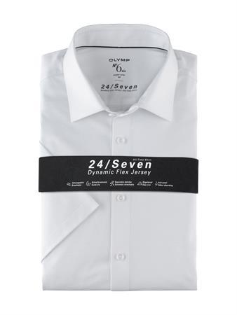 OLYMP overhemd Super Slim Fit 250372 in het Wit