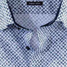 OLYMP overhemd Super Slim Fit 250744 in het Wit