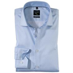 OLYMP overhemd Super Slim Fit 253234 in het Blauw