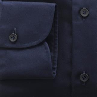 OLYMP SIGNATURE business overhemd Tailored Fit 851884 in het Donker Blauw