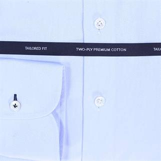 OLYMP SIGNATURE business overhemd Tailored Fit 858584 in het Hemels Blauw