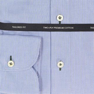 OLYMP SIGNATURE business overhemd Tailored Fit 859144 in het Kobalt