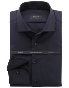 OLYMP SIGNATURE overhemd Slim Fit 851574 in het Donker Blauw