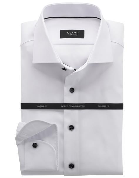 OLYMP SIGNATURE overhemd Slim Fit 851574 in het Wit
