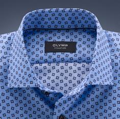 OLYMP SIGNATURE overhemd Slim Fit 855864 in het Blauw