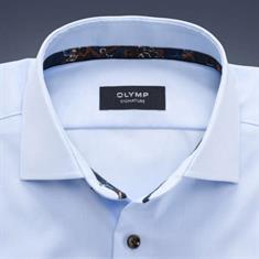 OLYMP SIGNATURE overhemd Tailored Fit 851544 in het Hemels Blauw