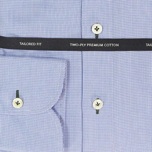 OLYMP SIGNATURE overhemd Tailored Fit 859144 in het Kobalt