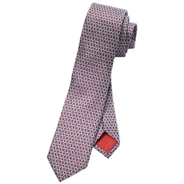 OLYMP stropdas 170161 in het Donker Rood