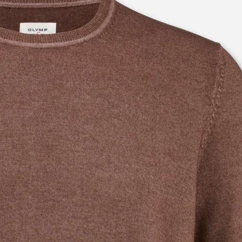 OLYMP truien Slim Fit 535045 in het Bruin