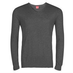 OLYMP v-hals trui Body fit 015110 in het Zilver