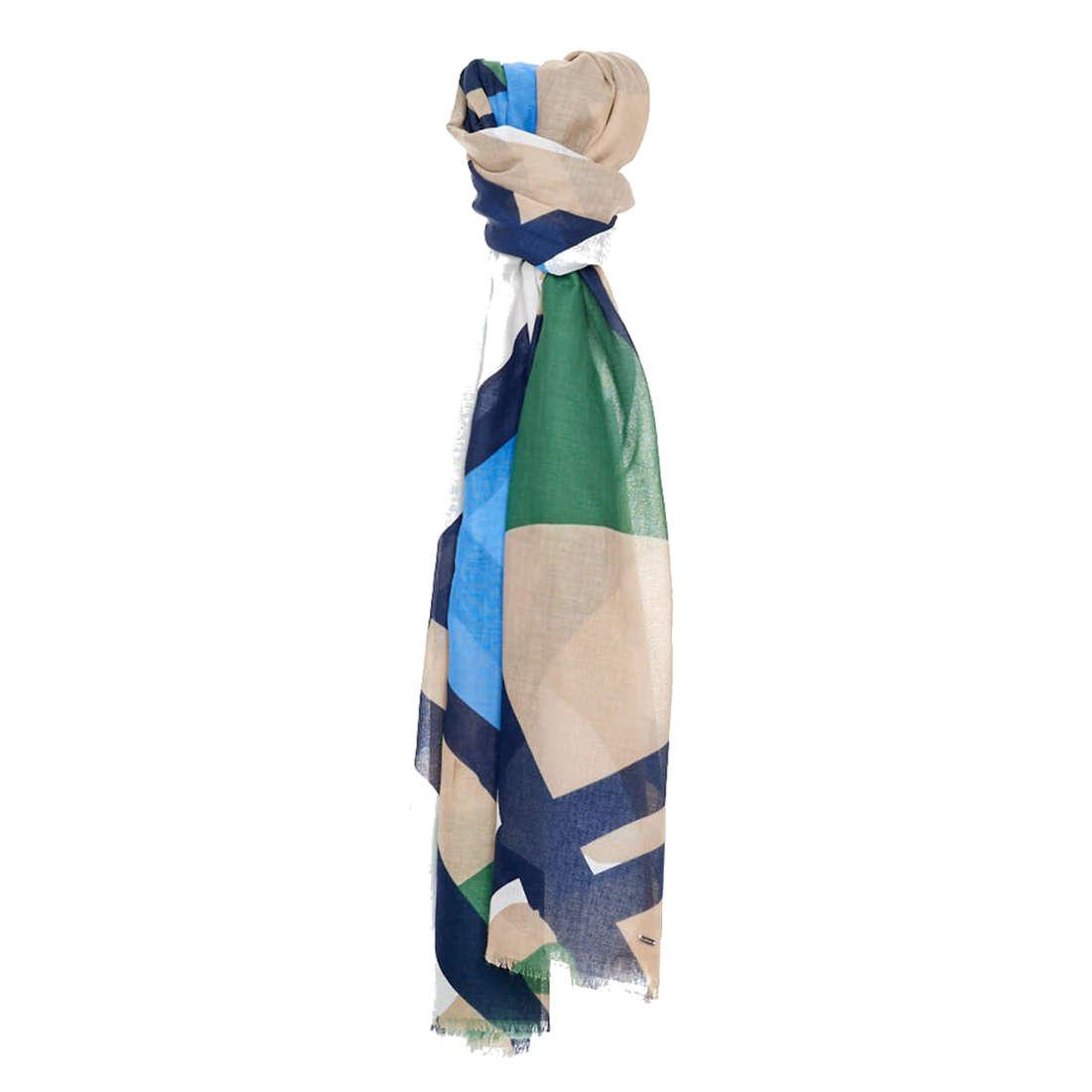 Opus accessoire Amoda scarf in het Blauw
