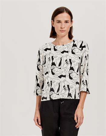 Opus blouse 222519059 in het Offwhite