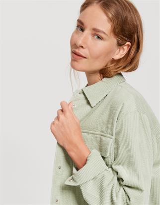 Opus blouse 242265930#O1009 in het Mint Groen