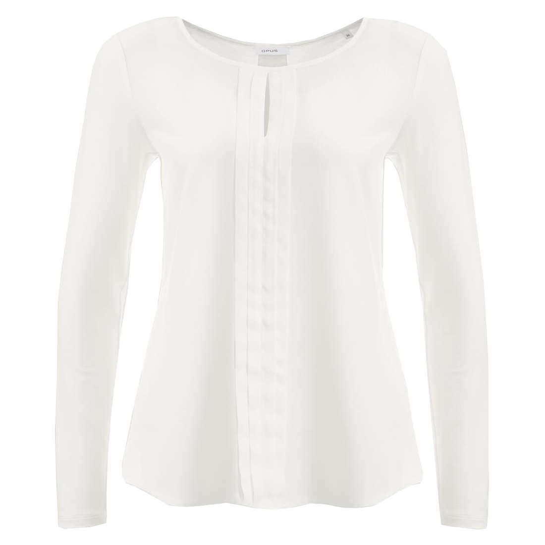 Opus blouse Fesina in het Offwhite