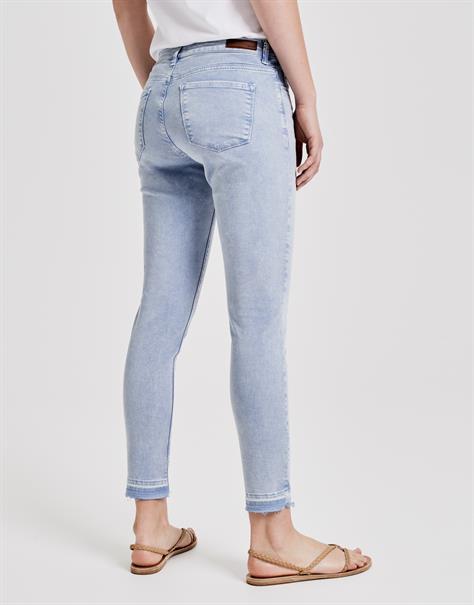 Opus jeans Elma 7/8 fresh in het Blauw