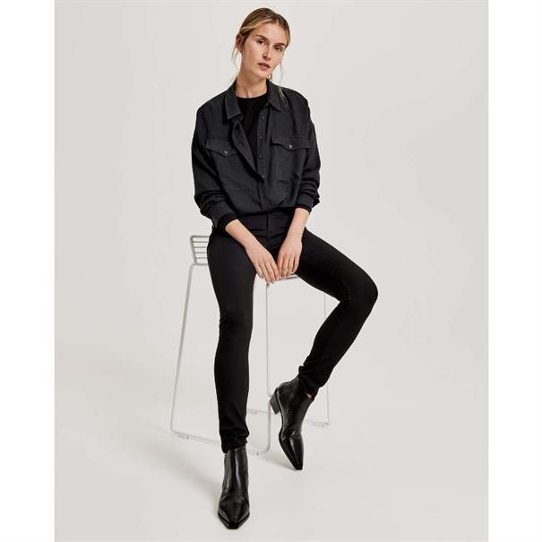 Opus jeans Elma black in het Zwart