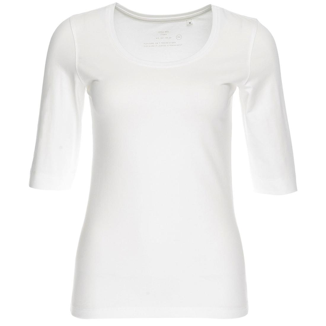 Opus t-shirt 120090601#290 in het Wit