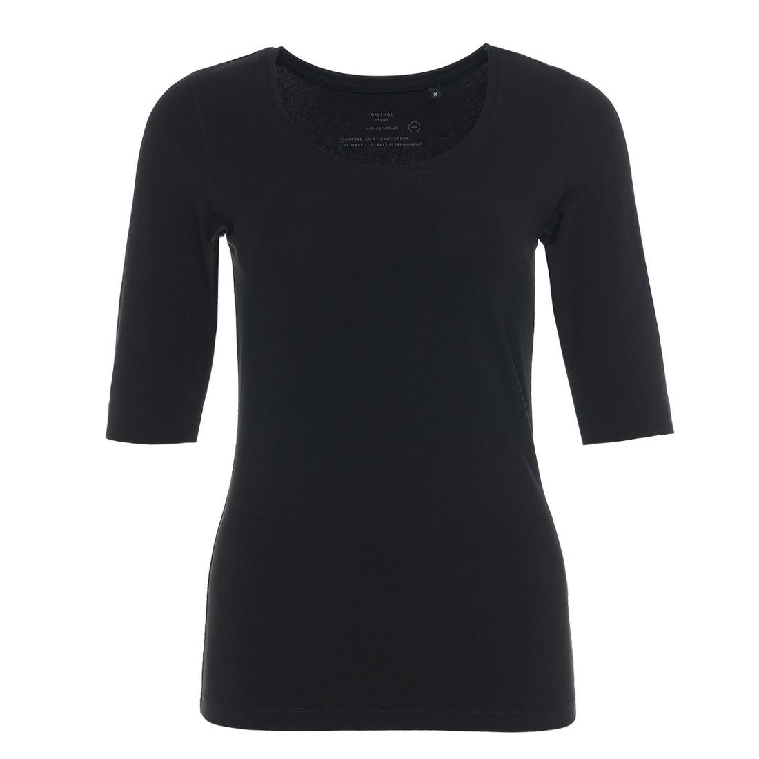 Opus t-shirt 120090601#290 in het Zwart