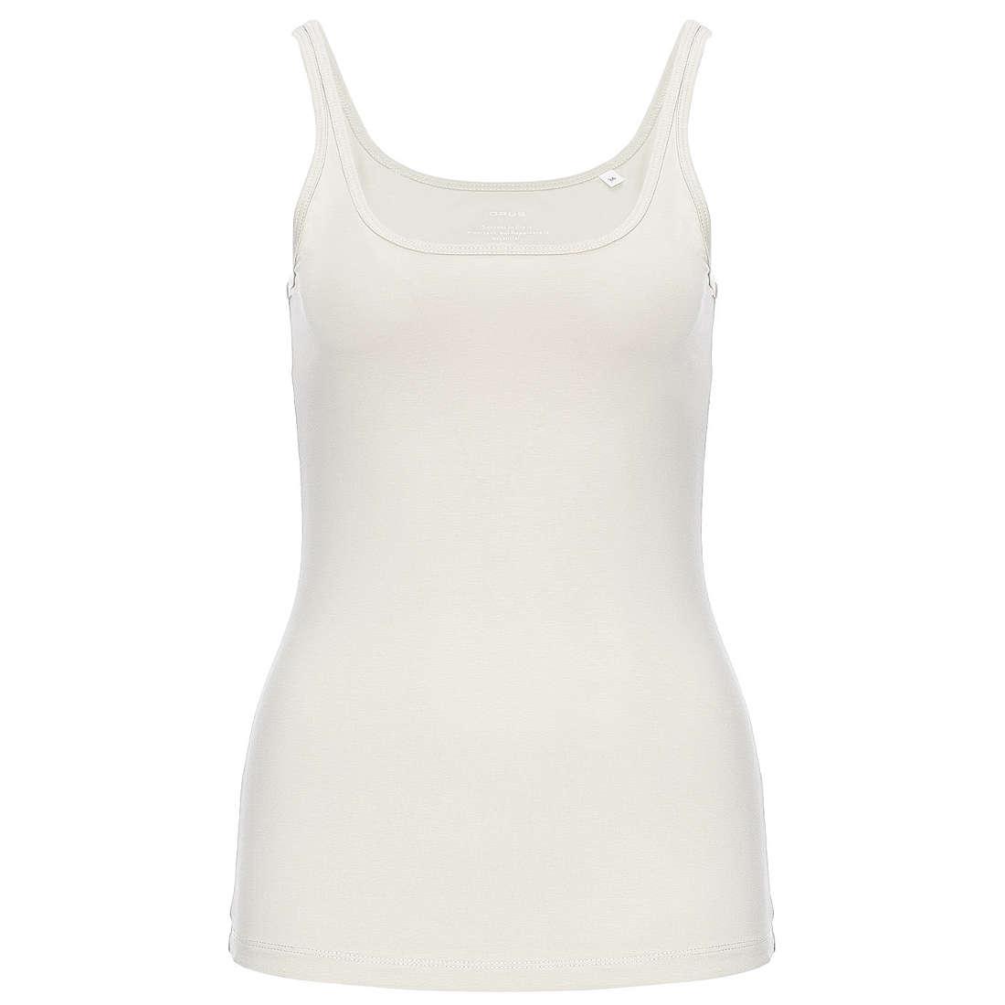 Opus t-shirt 199060601#O8009 in het Wit/Beige