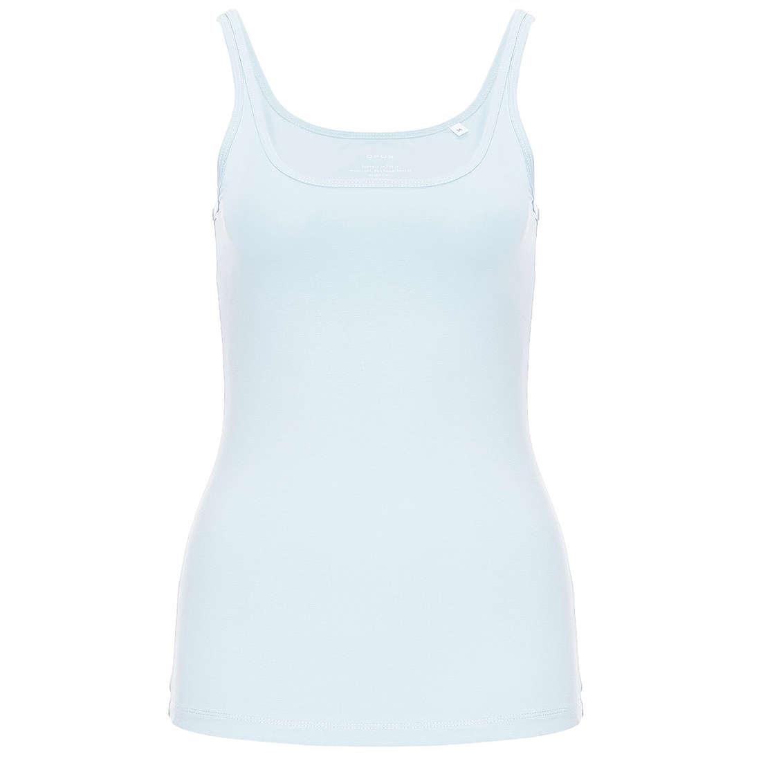 Smit Mode:  Opus t shirts 199060601O8009 in het Licht Blauw