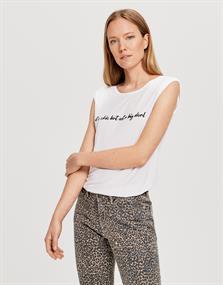 Opus t-shirts 241355850 in het Wit