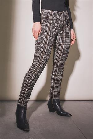 Para Mi pantalons fw212-166069 in het Zwart / Beige