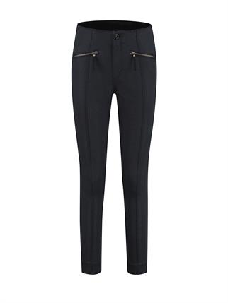 Para Mi pantalons fw212-168069 in het Donker Blauw