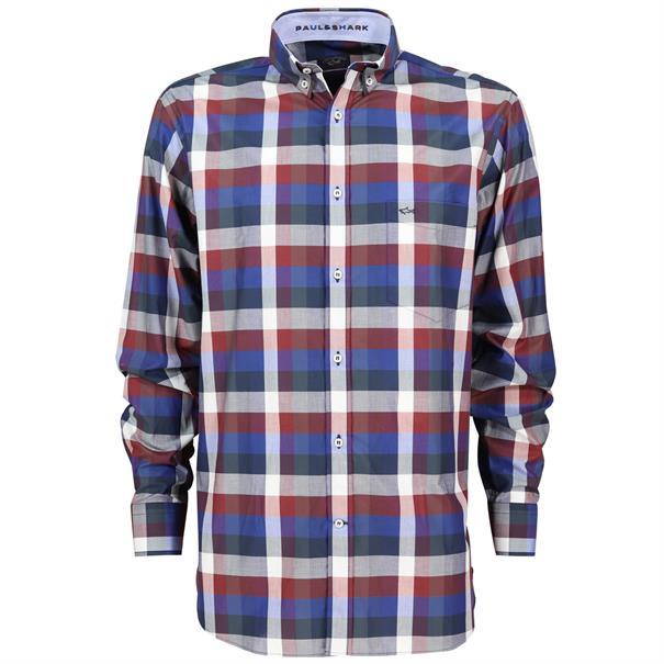 Paul & Shark overhemd i15p0339 in het Blauw