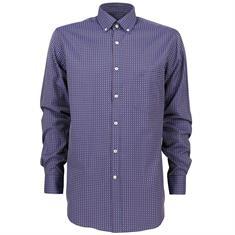 Paul & Shark overhemd i16p3183 in het Donker Blauw