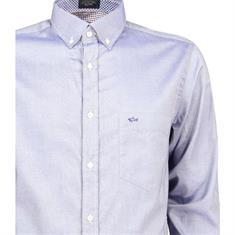 Paul & Shark overhemd i16p3297 in het Donker Blauw